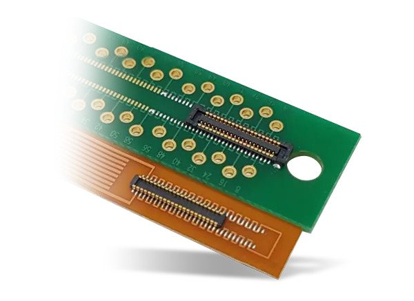 Hirose KN13C 0.4mm Pitch Board to FPC Connectors